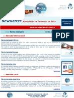 Newsletter 01-06-2010