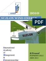 COMPANY PROFILE 2010@ suzlon wind energy