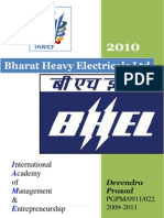 COMPANY PROFILE @2010@bharat heavy electrical ltd report