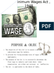 The Minimum Wages Act ,1948PPT