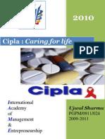 COMPANY PROFILE 2010@ CIPLA