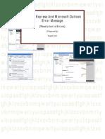 Outlook Errors & SMTP List