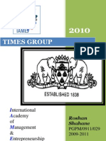 compant profile 2010@ TIMES GROUP