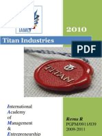 compant profile 2010@ titan industries