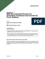 IEEE 142-1991 Grounding