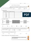 prueba  Matematica decimales