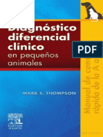 Diagnostico diferencial clinico en pequeños animales Mark Thompson.pdf