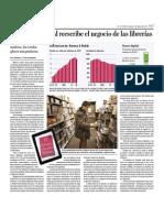El formato digital reescribe el negocio de las librerías