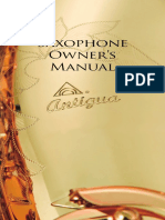 2013 Saxophone Owner's Manual