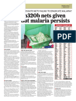 Shs320 nets distributed but malaria persists