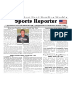 September 7 - 13, 2016  Sports Reporter