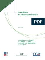 Revue Dépenses - Patrimoine