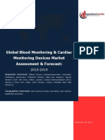 Global Blood Monitoring & Cardiac Monitoring Devices Market Assessment & Forecast