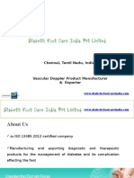 Vascular Doppler Manufacturers and Suppliers - Diabetik Foot Care Private Limited