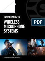 Introduction to Wireless Microphone Systems English