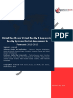 Global Healthcare Virtual Reality & Augmented Reality Systems Market Assessment & Forecast