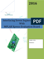 MPLAB Xpress Evaluation Board 7_segment Display