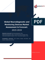 Global Neurodiagnostic and Monitoring Devices Market Assessment & Forecast