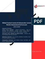 Global Contact Lenses & Intraocular Lenses Market Assessment & Forecast
