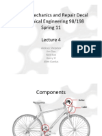 Bicycle Mechanics and Repair - Lecture4