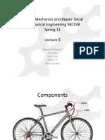 Bicycle Mechanics and Repair - Lecture5