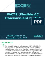 FACTS (Flexible AC Transmission) by TSR