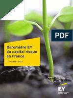 Barometre Ey Du Capital Risque en France 1er Semestre 2016