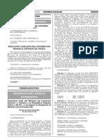 Resolución Legislativa del Congreso que designa al Defensor del Pueblo