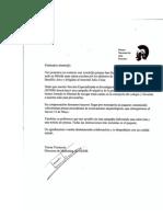 Carta Del Museo de Arte Romano