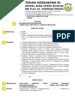 SK Tamplate Pedoman Pengorganisasian