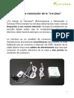 Manual Instalacion Mirubox y Fichas Tecnicas ESP