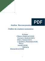 Analiza-Macroeconomica