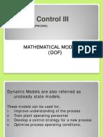 Degrees of Freedom (DOF) - CET300S - 2015