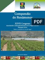 Memorias del XXVII Congreso ALAP 2016