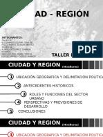 ciudad y Region