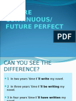 Future Continuous and Perfect