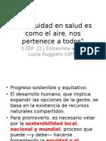 equidad sostenibilidad 2012