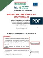 Rinforzo Per Carichi Verticali Delle Strutture in CA 30-05-2014 Ver02