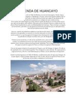 Leyendas originarias de Huancayo