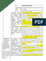 Verneaux, Epistemología, Argumentación Lógica Tabla Con Análisis