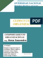 Clima y Cultura Organizacional Final