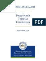 PennsylvaniaTurnpikeCommission Audit 9.6.16