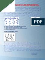 Valutazione Posturale Test Verticale Di Barre Test Piriforme