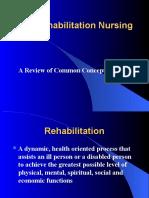 Nursing Rehabilitation