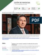 Boletín de noticias KLR 07SEP2016
