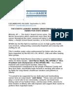 State's Largest Nurses Union Endorses Adam Haber For State Senate