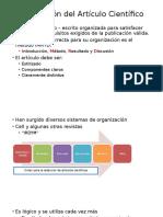 Organización Del Artículo Científico