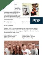 Programblad till jazzfestivalen
