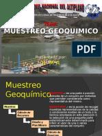 Muestreo de minerales Geología de minas