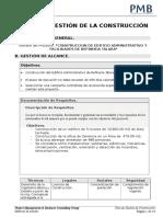 Plan de Gestión de Construcción oficinas Petroperú